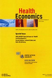 essay about health economics James poterba, president james poterba is president of the national bureau of economic research he is also the mitsui professor of economics at mit.